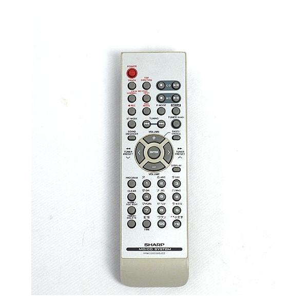 SHARP オーディオリモコン RRMCG0054SJZZ
