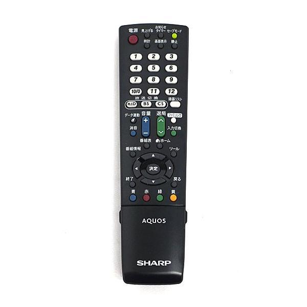 SHARP製 液晶テレビ用リモコン GA995WJSA 美品