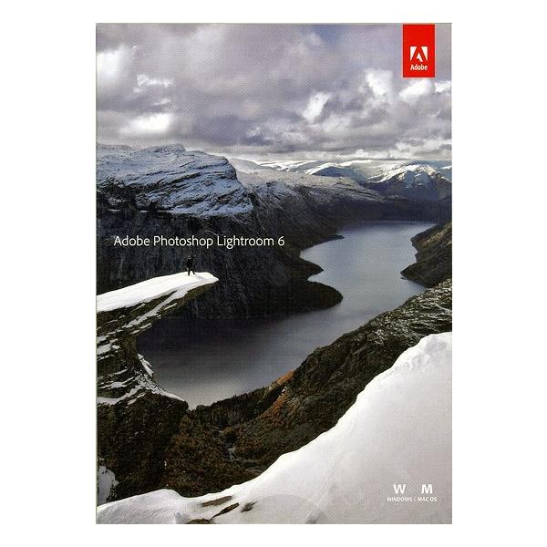 Adobe Photoshop Lightroom6★Win&Mac両対応版△未開封