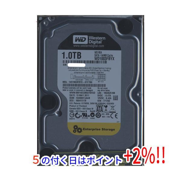 Western Digital製HDD WD1003FBYX 1TB SATA300 7200