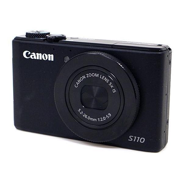 Canon製 PowerShot S110 ブラック 1210万画素