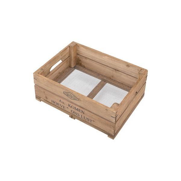 ボックス ハーフサイズ〈LFS-475〉持ち手付 木箱 スタッキング可 スタックボックス ストレージボックス 収納 インテリア 雑貨 家具 おしゃれ|excellentkagu|02
