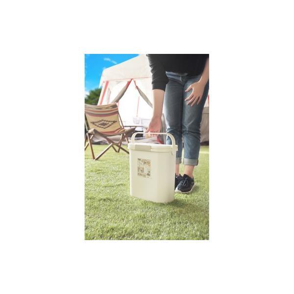 運べる防臭ペール 10L(ホワイト/白)〈RSD-73WH〉生ゴミバケツ ダストボックス ごみ箱 ゴミ箱 フタ付 持ち手付 コンパクト 日本製 excellentkagu 06