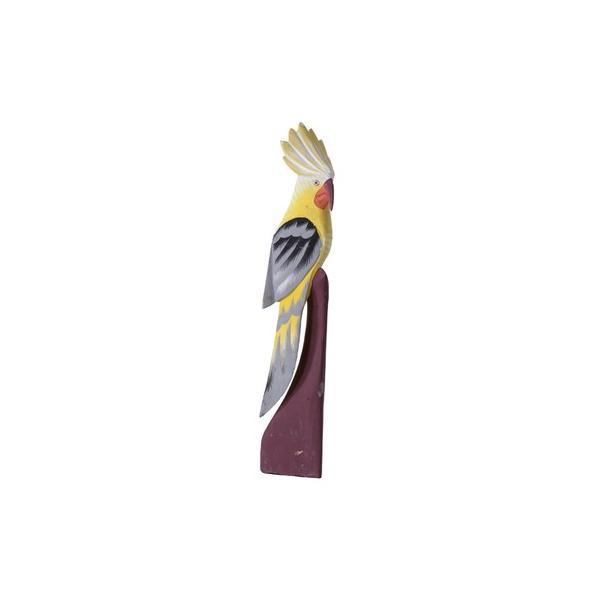 バード オーナメント〈TTZ-911A〉鳥 オウム インコ 動物 オブジェ 置物 飾り 装飾 アクセント インテリア 雑貨 おしゃれ excellentkagu
