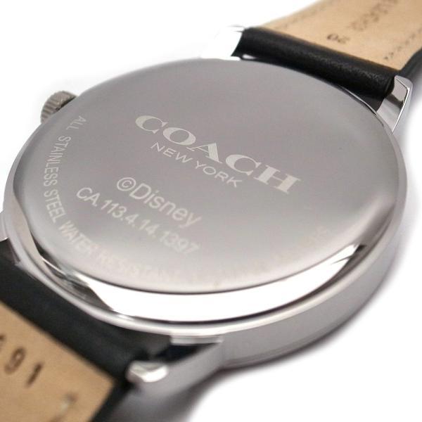77a92389db82 ... COACH コーチ アウトレット 時計 ミッキー ディズニー コラボ 腕時計 アナログ時計 W6232 BLK ブラック ...