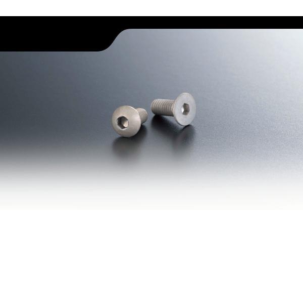 AXON マット アルミニウム スクリュー ボタン 3×6 10p NA-B3-062 exciteplus 02