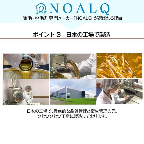 鼻毛 ワックス ブラジリアンワックス  超大容量両鼻15回分 ワックス60g スティック30本 日本製 オレンジフレーバータイプ NOALQ(ノアルク)  (送料無料)|excitingshop|09