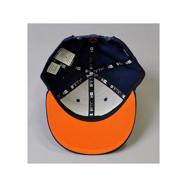 de3de1d725ea0 TaylorMade Performance New Era 9Fifty SnapBack Hat Navy Orange ...