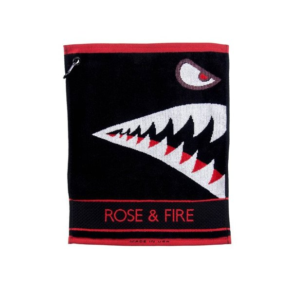 Rose&Fire Bomber/Warhawk Golf Towel|excorsgolf