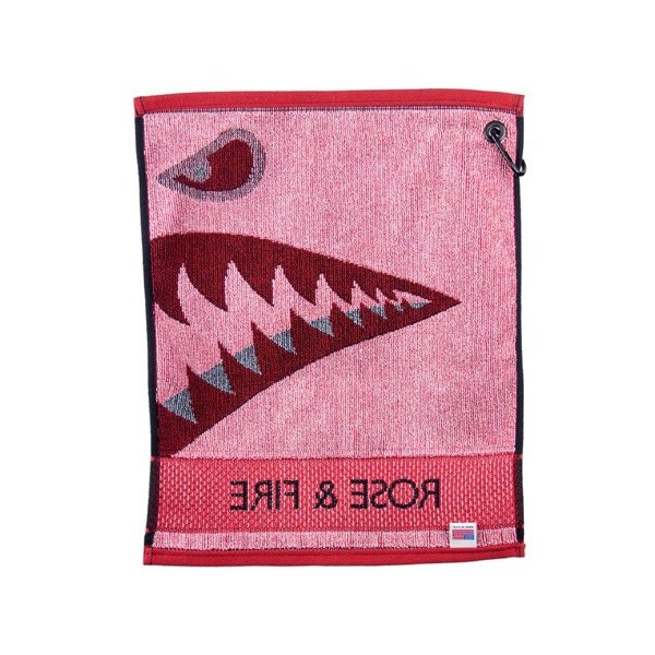 Rose&Fire Bomber/Warhawk Golf Towel|excorsgolf|02