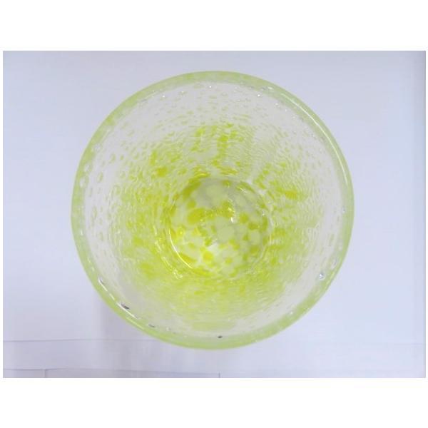 グラス 琉球ガラス ロックグラス 気泡の海ラインロック 赤系 2色 ギフト|exmart|03