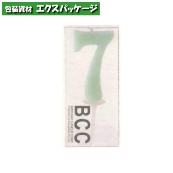 カメヤマ パステルナンバーキャンドル 「7番」 1本 取り寄せ品 池伝