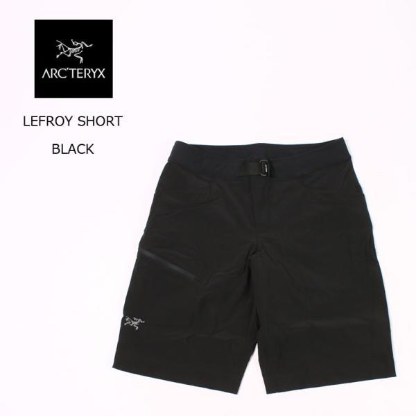 【期間限定プライスダウン】ARC'TERYX アークテリクス  LEFROY SHORT - BLACK ショーツ メンズ