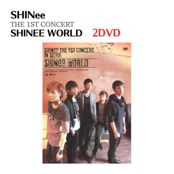 SHINee - The 1st Concert SHINee World  (2DVD + Photobook) 韓国盤|expressmusic