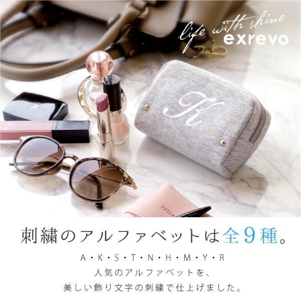 ポーチ イニシャル 刺繍 アイコス シンプル イニシャルポーチ かわいい おしゃれ|exrevo|03