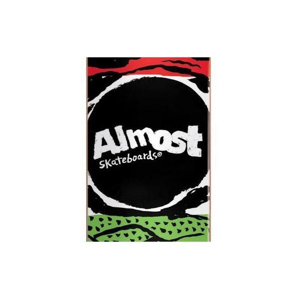 ALMOST スケートボード デッキ コンプリート セット 7.75インチ【 PRIMAL PRINT MULTI 】 スケボー オールモスト|extreme-ex|02