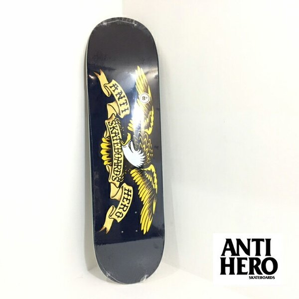ANTIHERO スケートボード デッキ 8.5インチ【 CLASSIC EAGLE XL 】 スケボー アンチヒーロー アンタイヒーロー SKATEBOARD|extreme-ex
