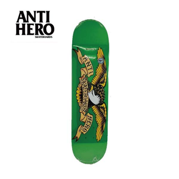 ANTIHERO スケートボード デッキ 8.12インチ【 CLASSIC EAGLE 】 スケボー アンチヒーロー アンタイヒーロー SKATEBOARD|extreme-ex