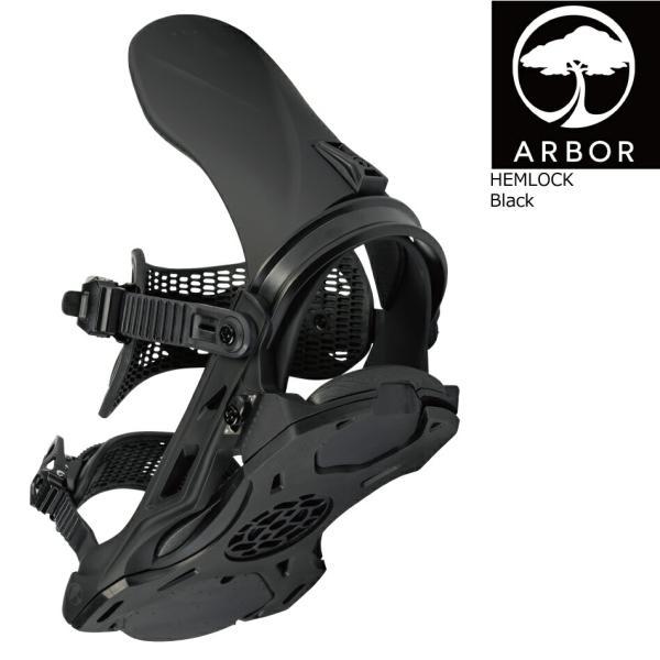 予約商品 21-22 ARBOR アーバー HEMLOCK ヘムロック メンズ スノーボード ビンディング【hemlock snowboard bindings 2021】いぐっちゃん WRX RICE28