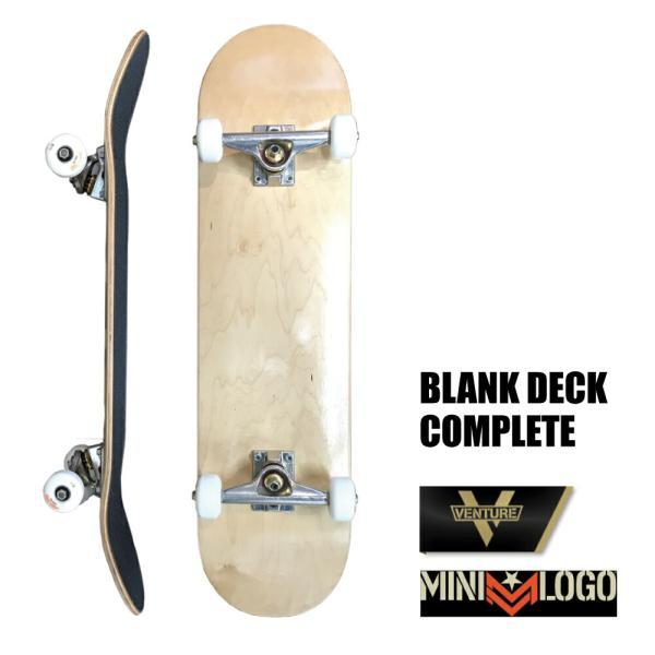 スケートボード コンプリート スケボー デッキ Wht VENTURE MINILOGO SKATEBOARD ベンチャー|extreme-ex