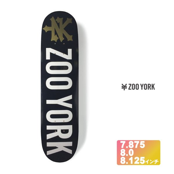ZOOYORK スケボー デッキ 【 SUMMER PHOTO INCENTIVE 】 7.875 8.0 8.125 インチ スケートボード ズーヨーク SKATEBOARD DECK|extreme-ex