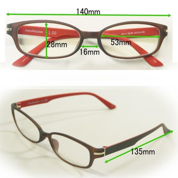 老眼鏡 ブルーライトカット PC老眼鏡 シニアグラス PC眼鏡【オリジナルケース付き】男女兼用 軽量フレーム リーディンググラスGR17 眼鏡クロスもプレゼント|eye-me-me|09