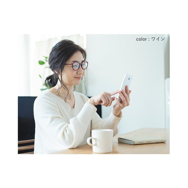 老眼鏡 おしゃれ ブルーライトカット レディース リーディンググラス  シニアグラス 日本製レンズ|eyeforyou|13