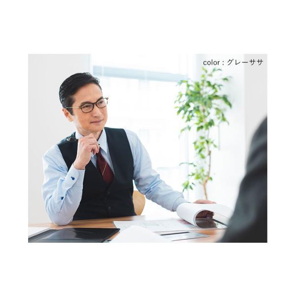 老眼鏡 おしゃれ ブルーライトカット メンズ リーディンググラス  シニアグラス 日本製レンズ|eyeforyou|15