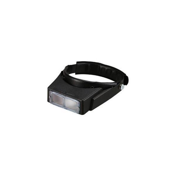 ヘッドルーペ 拡大鏡 メガネ型 ガラス 1.8倍 LH-112A 日本製 クリアー光学