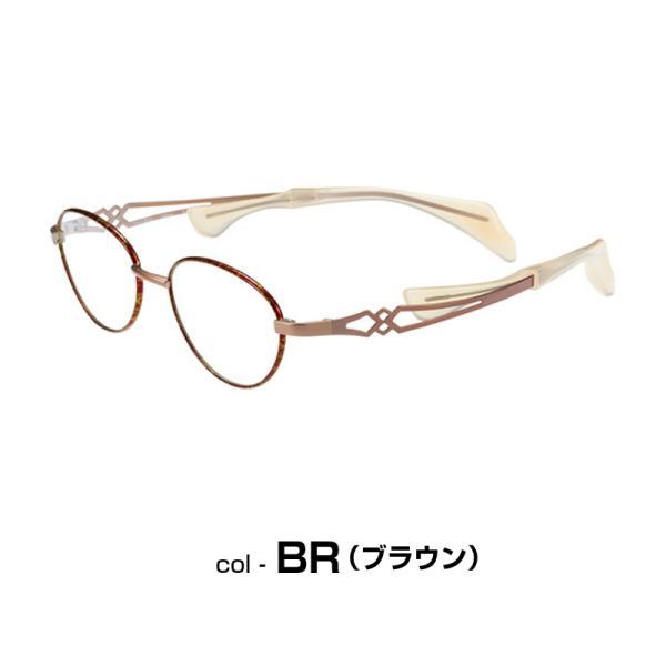ちょこシー 鼻に跡がつかない 女性 おしゃれ メガネ 老眼鏡 Choco See FG24502 eyeneed 10