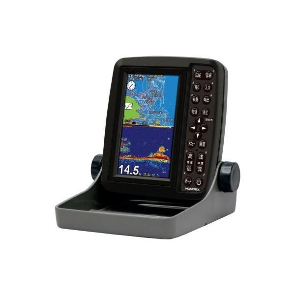 HONDEX(ホンデックス) 魚探 5型ワイドポータブルGPS内蔵プロッター魚探 PS-611CN.