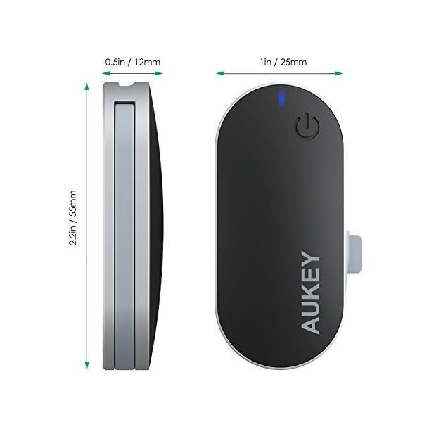 AUKEY Bluetooth トランスミッター Bluetooth送信機 ワイヤレス オーディオ トランスミッター 3.5mmステレオミニプラグ接続 BT-C1|eyshopnet|08