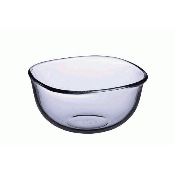 iwaki(イワキ) 耐熱ガラス ニューボウル ボール 角型 23×23cm 3.3L KBC337