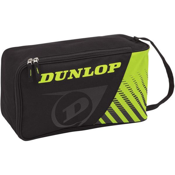 DUNLOP(ダンロップテニス) シューズケース DTC-2038 ブラツクイエロ