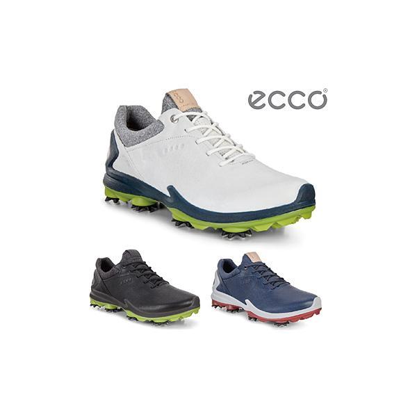 ECCO(エコー)日本正規品 BIOM G3 メンズモデル ソフトスパイクゴルフシューズ 2019モデル 「131804」