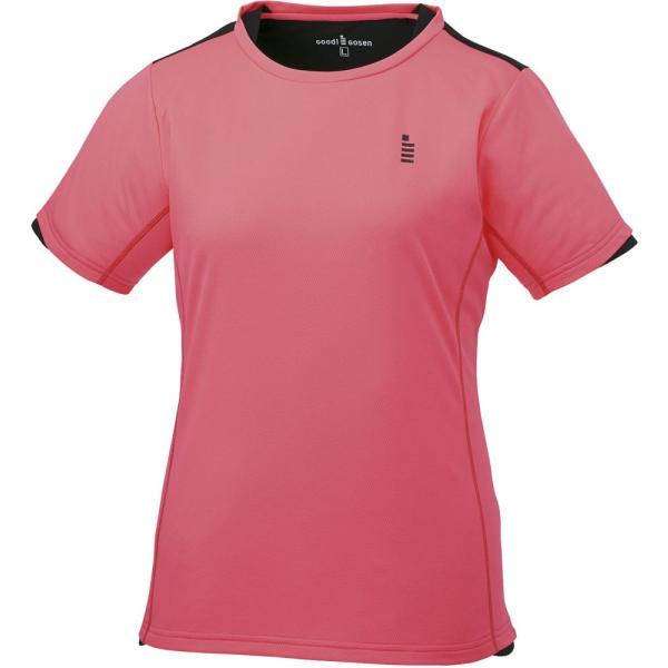 GOSEN(ゴーセン) (レディース テニス・バドミントンウェア) ゲームシャツ コーラルレッド