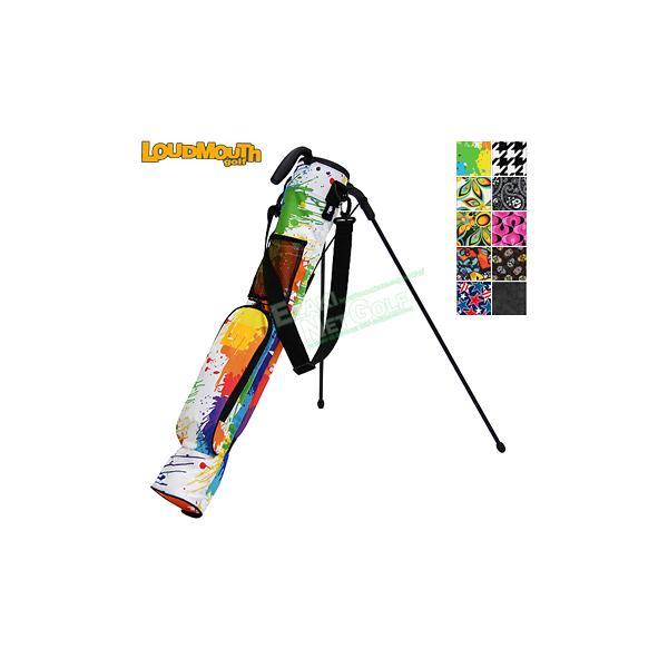 LOUDMOUTH GOLF(ラウドマウス ゴルフ)日本正規品 セルフスタンドバッグ 「LM-CC0004」