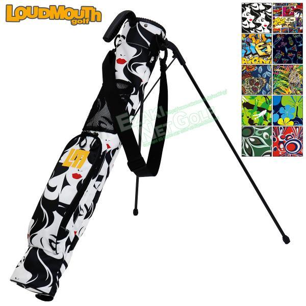 【2019秋冬新色】LOUDMOUTH GOLF(ラウドマウス ゴルフ)日本正規品 セルフスタンドバッグ 「LM-CC0004」