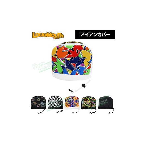 LOUDMOUTH GOLF(ラウドマウス ゴルフ)日本正規品 アイアンカバー 「LM-HC0002/IR」