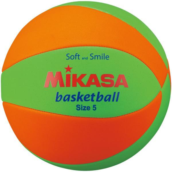 ミカサ(MIKASA) スマイルバスケット5号 マシーン縫い STPEB5-LGO