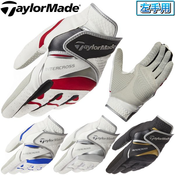 TaylorMade(テーラーメイド)日本正規品 INTERCROSS 4.0 GLOVE(インタークロス 4.0) メンズ ゴルフグローブ(左手用) 2020モデル 「CCN46」