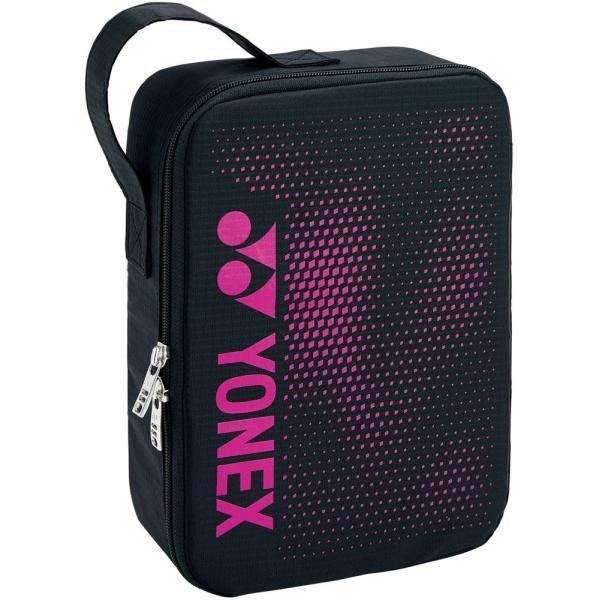 Yonex(ヨネックス) ランドリーポーチM ブラック/ピンク