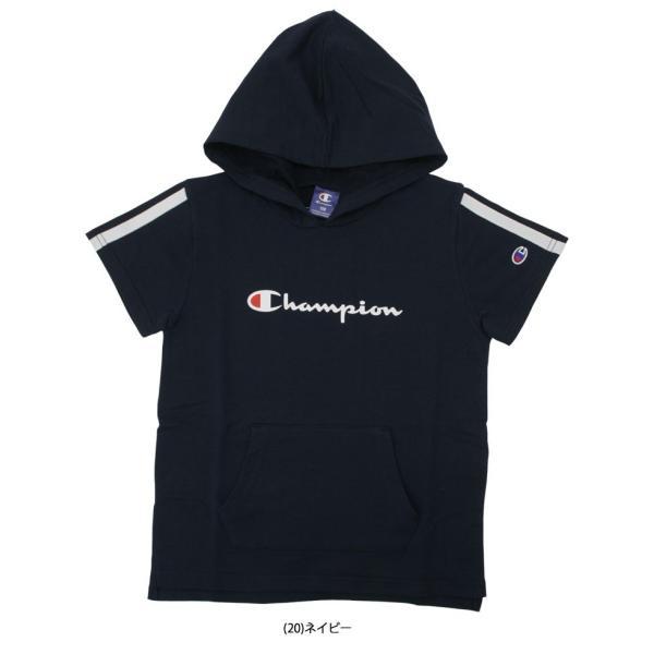 クリアランスセール30%OFF!チャンピオン フーディーシャツ CJ4254 ジュニア キッズ ガールズ 2019年春夏|ezone|04