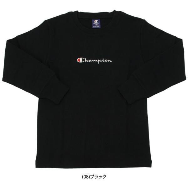 【メール便送料無料】チャンピオン 長袖 シャツ CX7108 ジュニア キッズ ボーイズ 2019年春夏 ezone 04