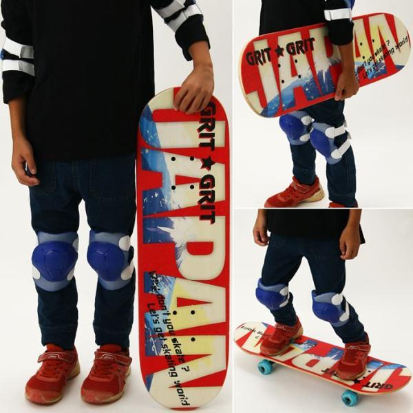 GRIT JPデザイン 28インチ スケートボード LED TK2020 【走ると光るLEDウィル】 専用パッケージ入り ezone 05