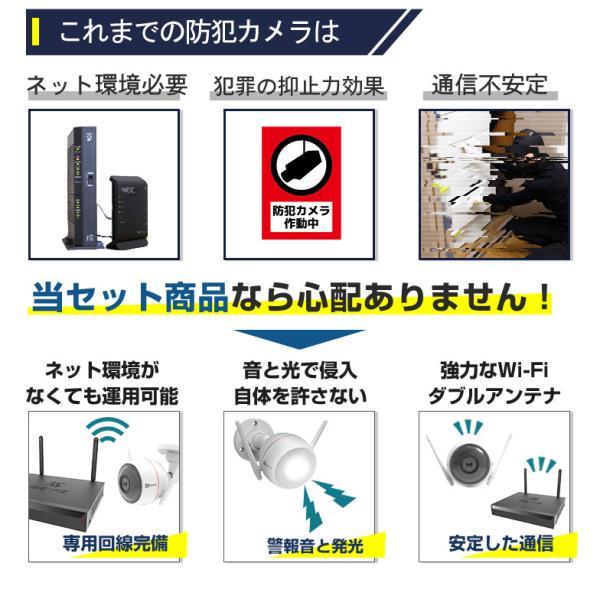 防犯カメラ セット 屋外 ワイヤレス ezviz 03