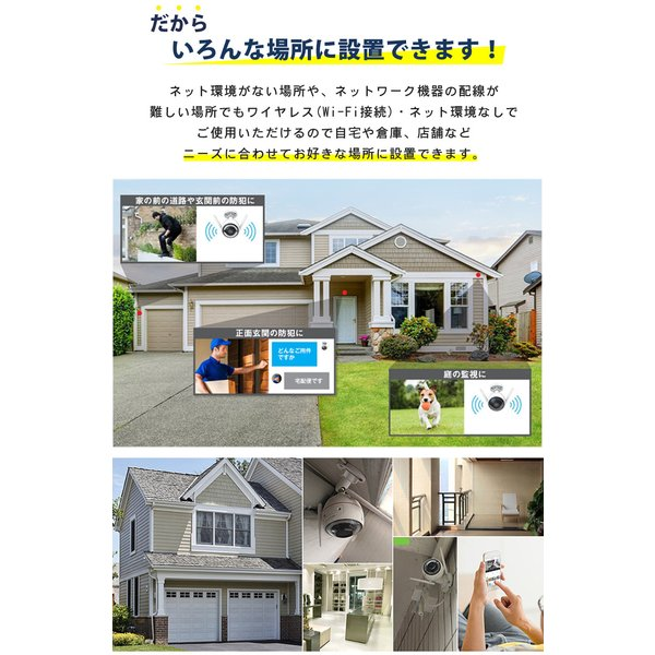 防犯カメラ セット 屋外 ワイヤレス ezviz 08