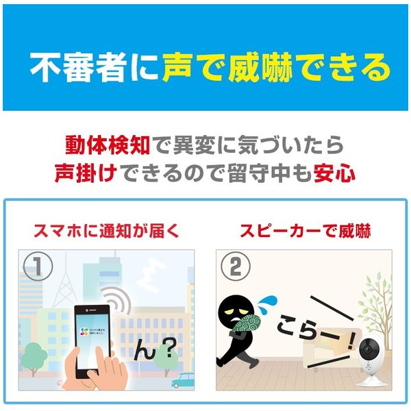 猫 ペットカメラ ペットモニター 見守り 屋内 mini O|ezviz|14