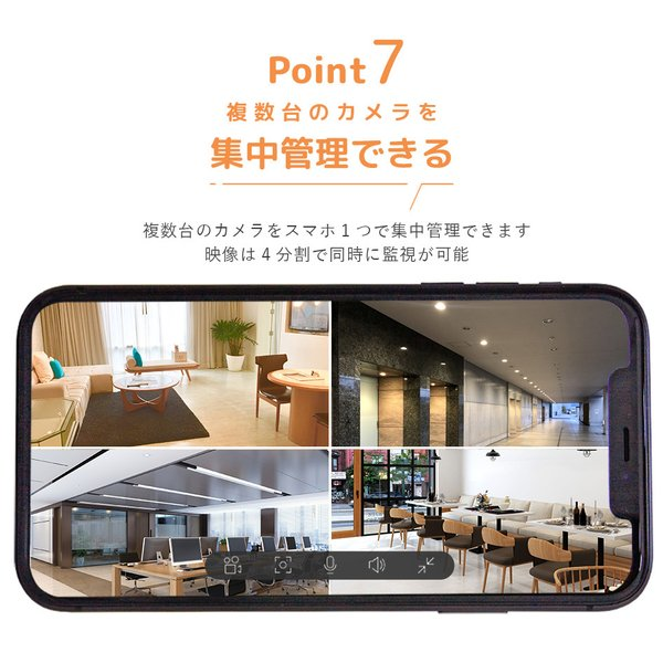 防犯カメラ 家庭用 ペットモニター 屋内 見守り mini O 180 ezviz 15