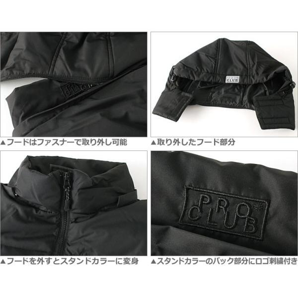 プロクラブ 中綿ジャケット メンズ|大きいサイズ USAモデル ブランド PRO CLUB|防寒 撥水 アウター ブルゾン XL LL|f-box|06